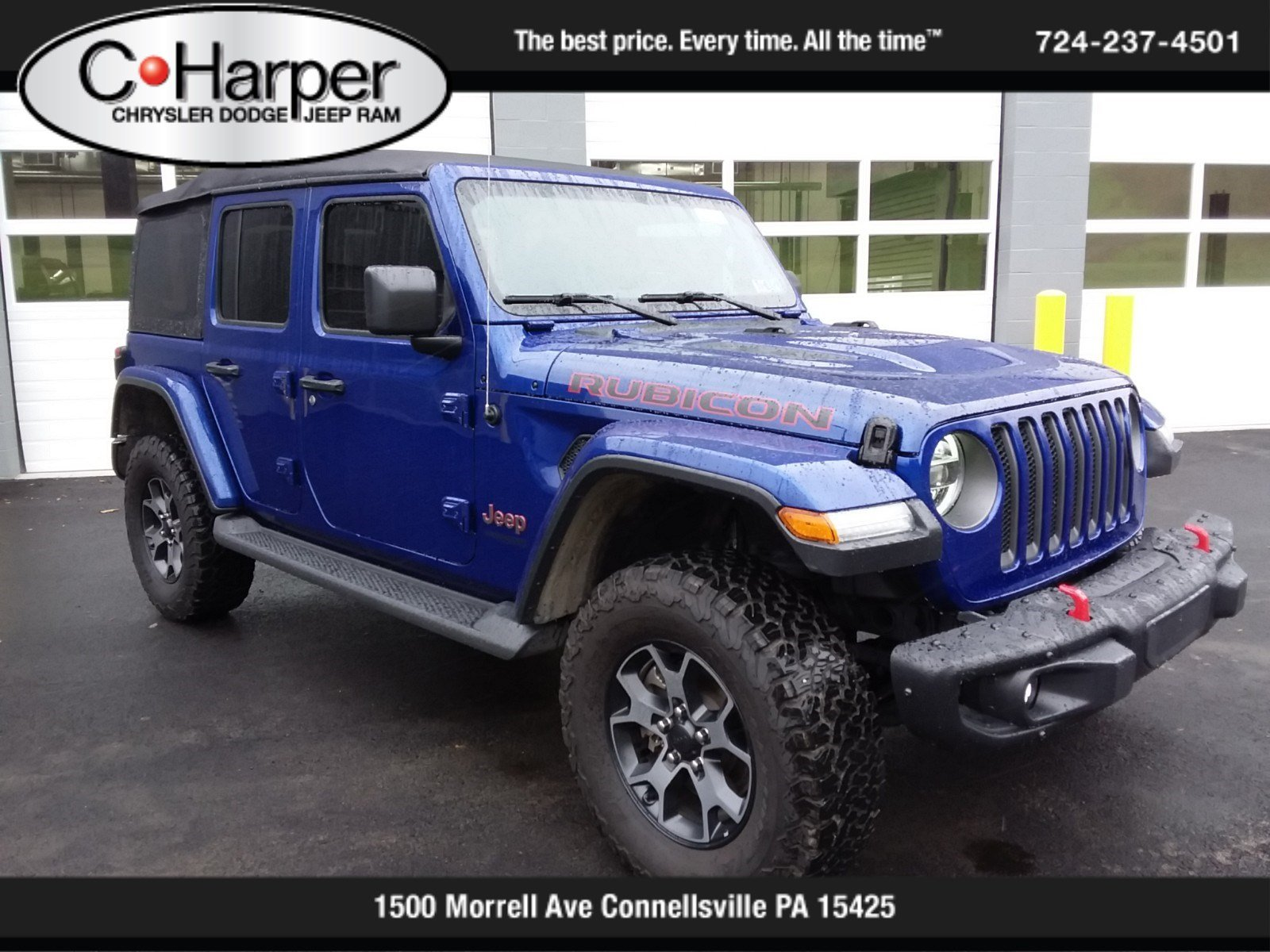 Pre-Owned 2019 Jeep Wrangler Unlimited Rubicon