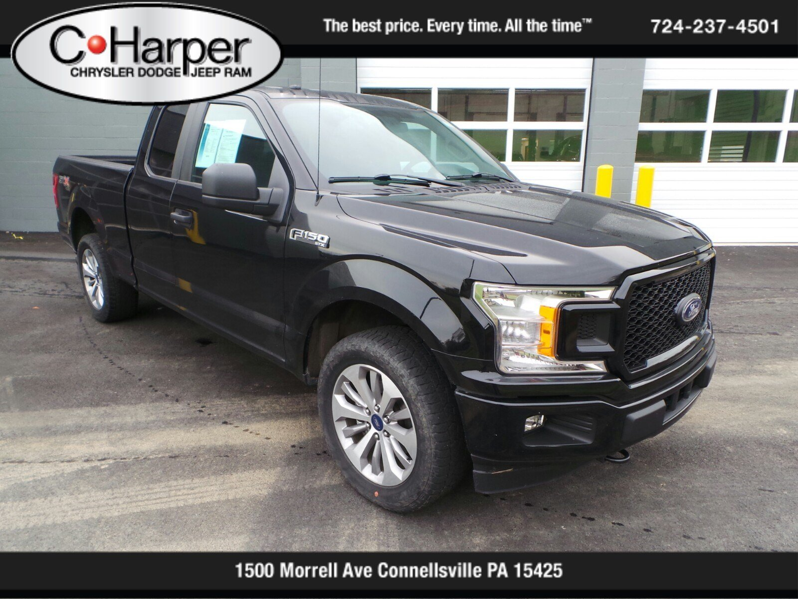 Pre-Owned 2018 Ford F-150 XL STX
