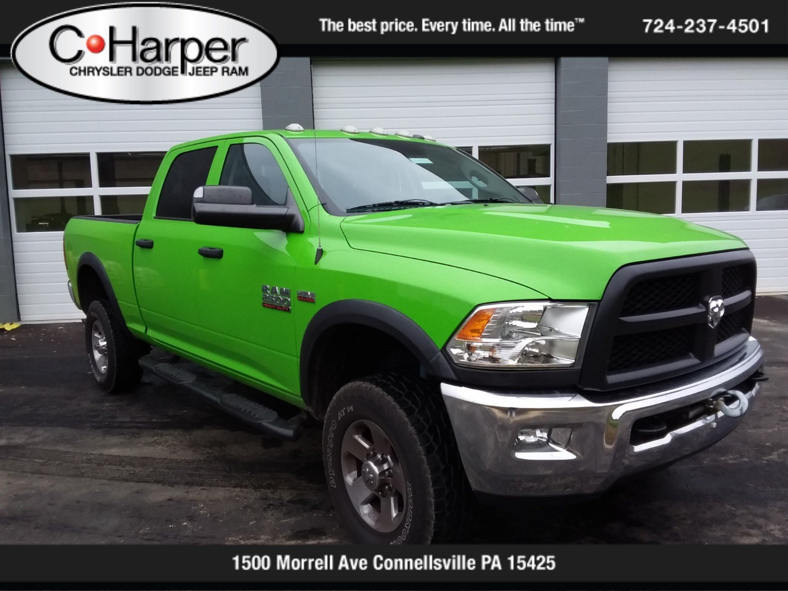 Pre-Owned 2015 Ram 2500 Tradesman Power Wagon